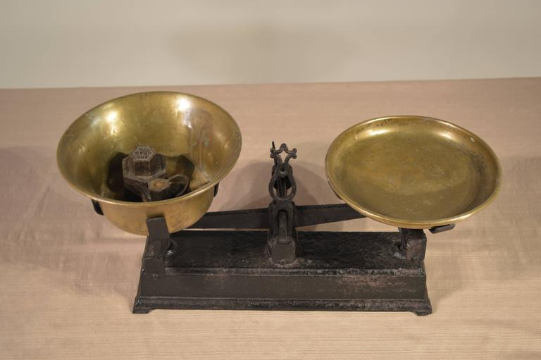 Industrial 19th Century French Scale For Sale