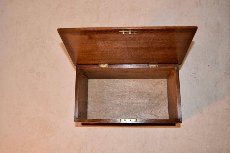 Late 19th Century Miniature Blanket Chest In Good Condition For Sale In High Point, NC