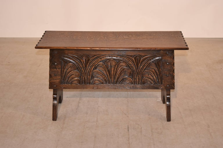 Victorian 19th Century Lift Top Bench For Sale