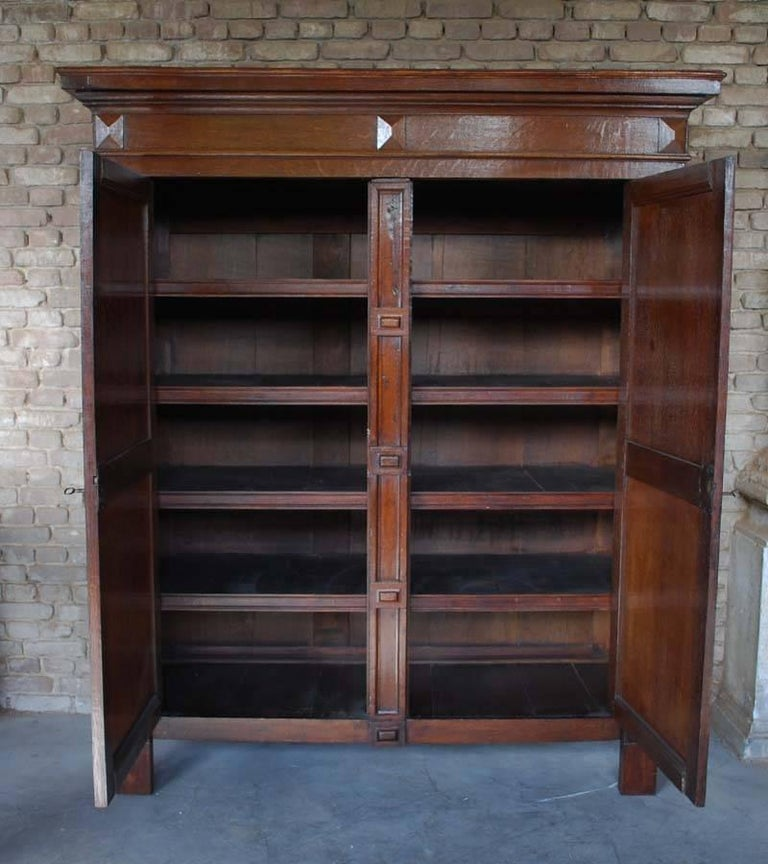 Oak Dutch Renaissance Cabinet For Sale