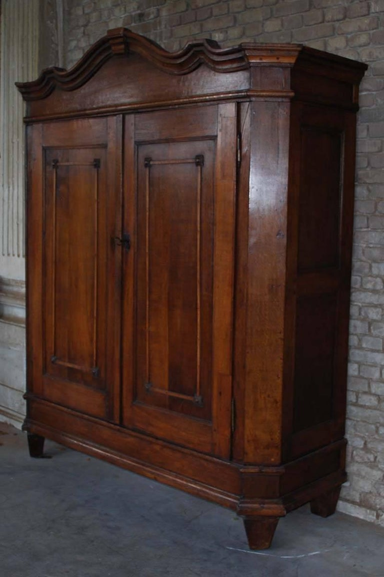 19th century cabinet made from oakwood.