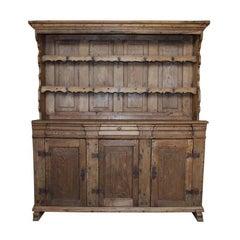 18th Century Oakwood Farmhouse Kitchen Cabinet