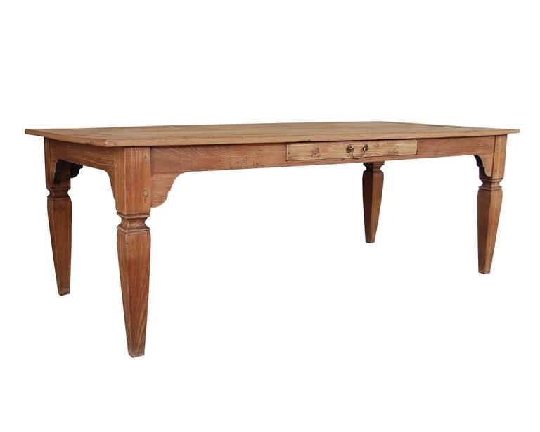 20th Century Teak Wood Kitchen Table For Sale at 1stdibs : tafel5l from www.1stdibs.com size 768 x 614 jpeg 17kB