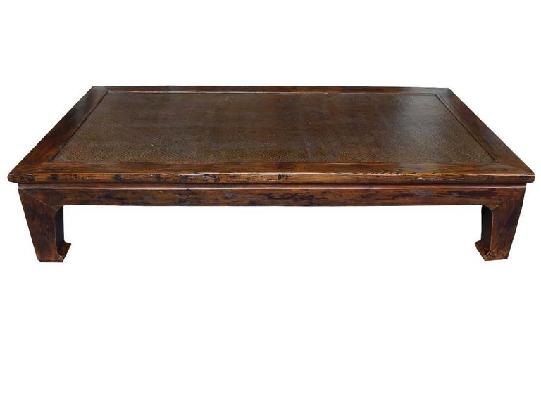Large 20th Century Juma Wood Low Table Or Coffee Table For Sale At 1stdibs