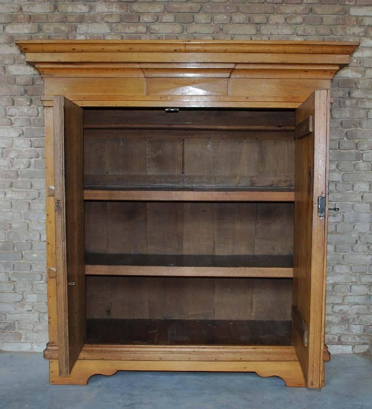 Dutch 19th Century Oakwood Cabinet For Sale