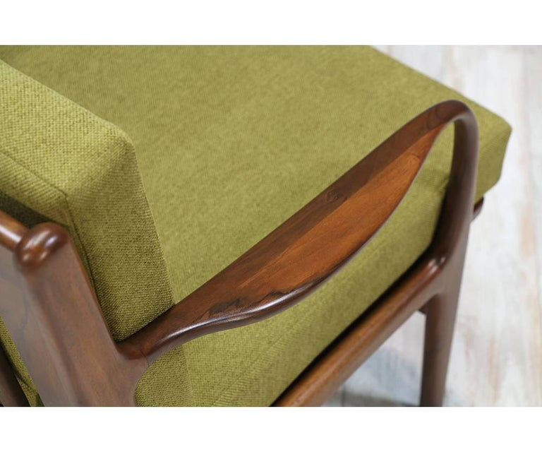 Adrian Pearsall Walnut Sofa for Craft Associates 6