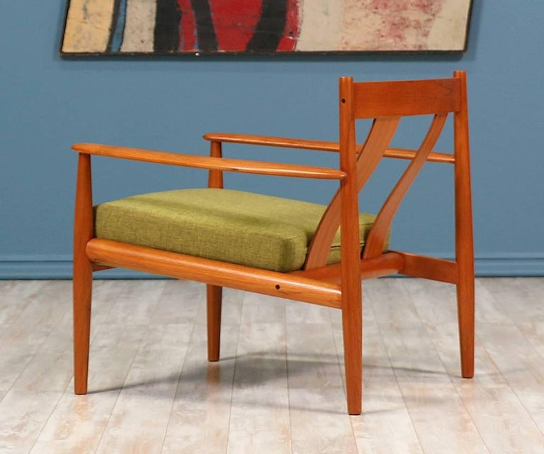 Grete Jalk Teak Lounge Chair For France And S 248 N For Sale