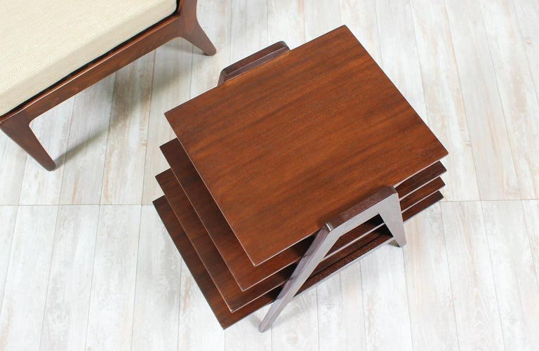 Mid-20th Century Midcentury Tier Side Table For Sale