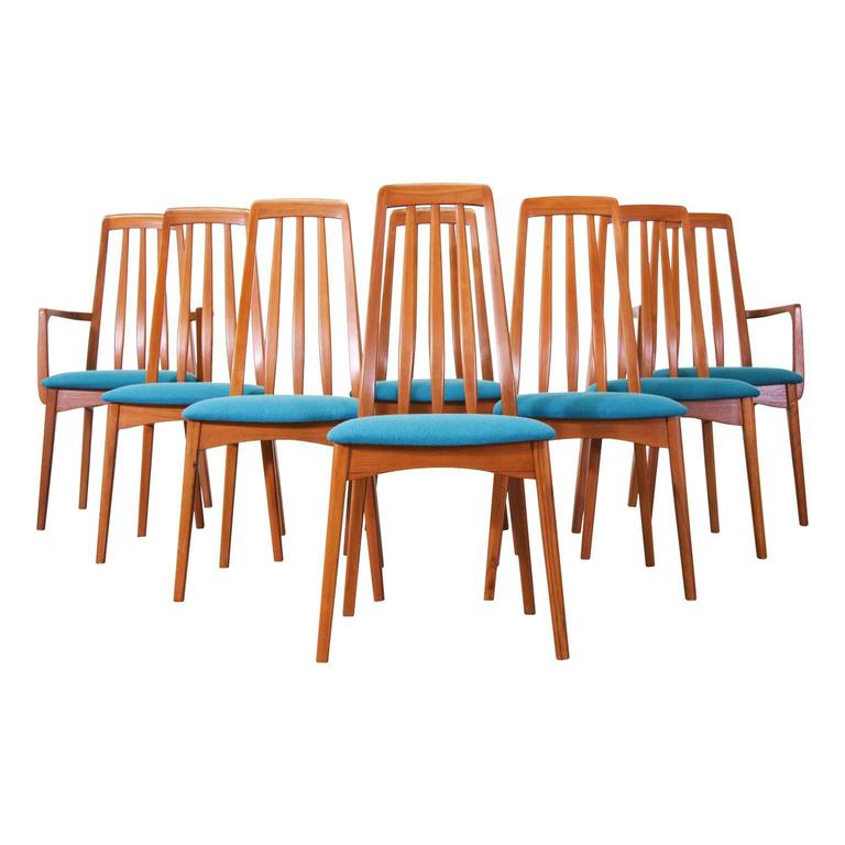 Danish Modern Dining Chair: Danish Modern Teak Dining Chairs By Svegards Markaryd At