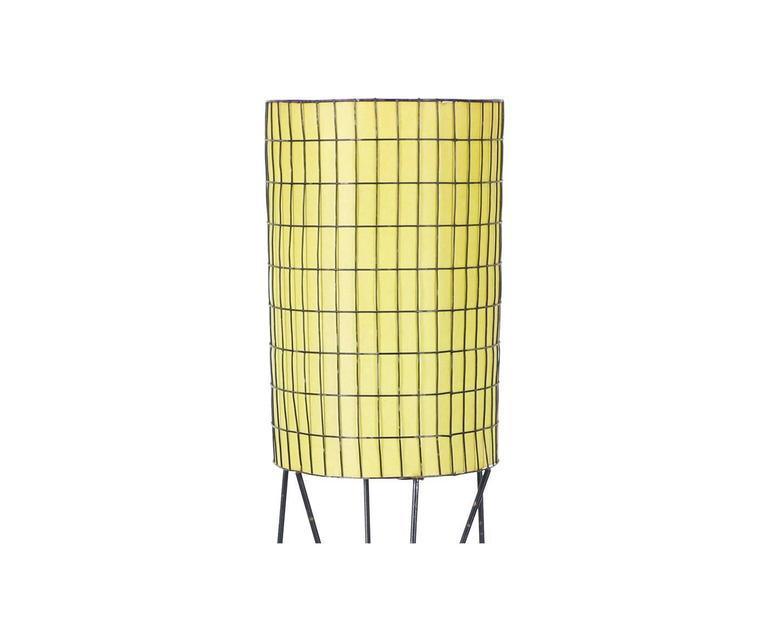 Midcentury Iron Floor Lamp By Paul Mayen For Sale At 1stdibs