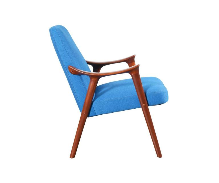 Scandinavian Modern Rolf Rastad and Adolf Relling Lounge Chair for Lenestolfabrikk
