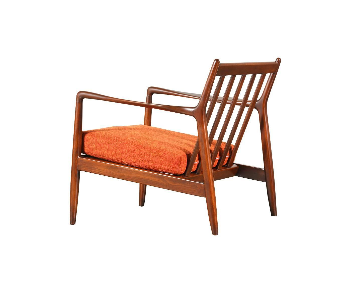 Folke Ohlsson Lounge Chair For Dux At 1stdibs