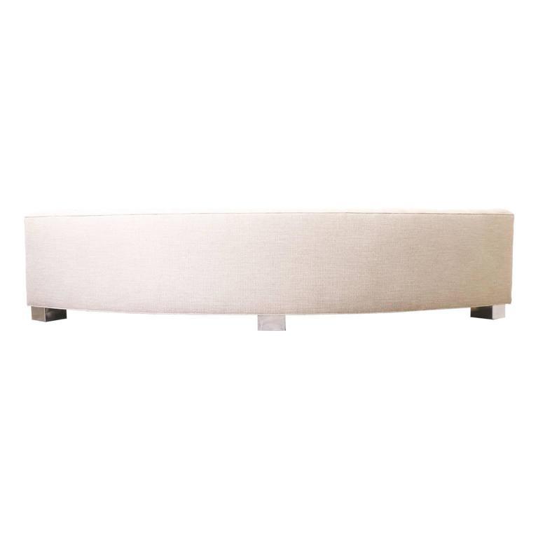 Milo Baughman Tufted Sofa for Thayer Coggin For Sale 1