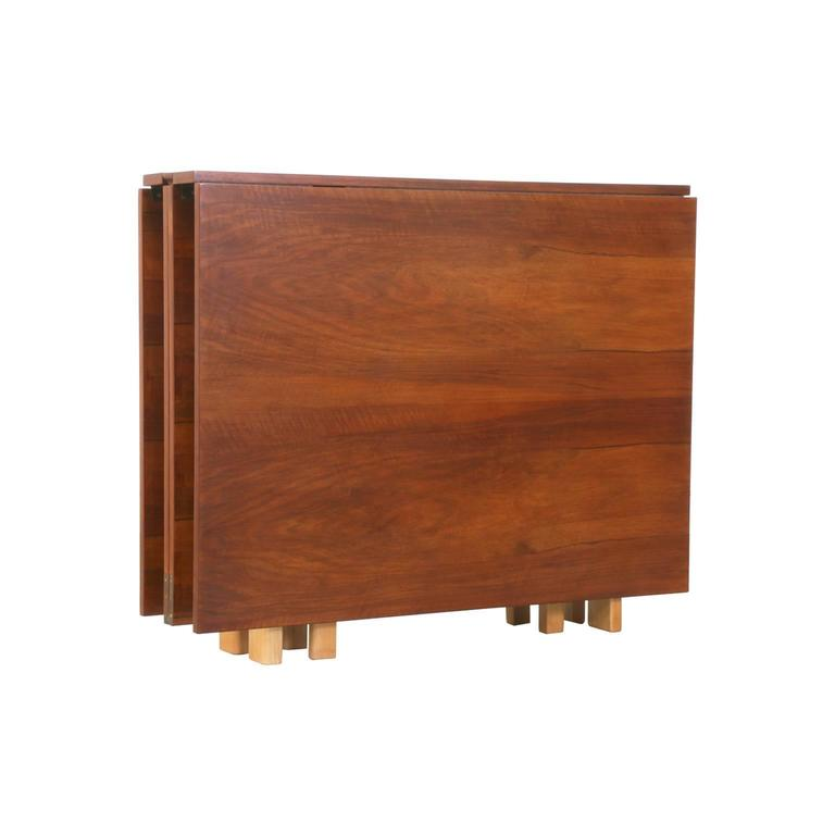 "Beech Bruno Mathsson ""Maria Flap"" Dining Table for Karl Mathsson For Sale"