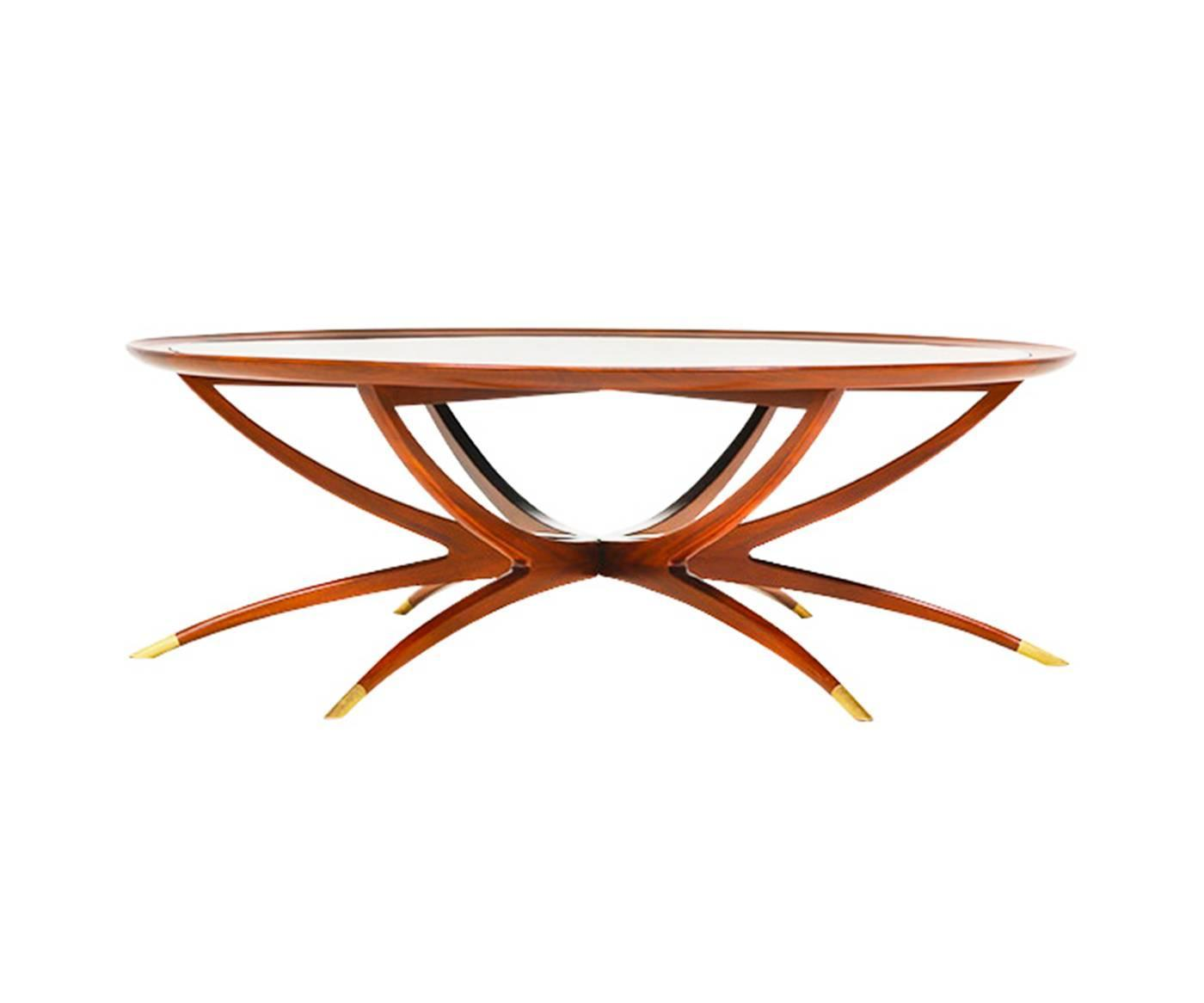 Danish Teak Folding Spider Leg Coffee Table By Selig For Sale At 1stdibs