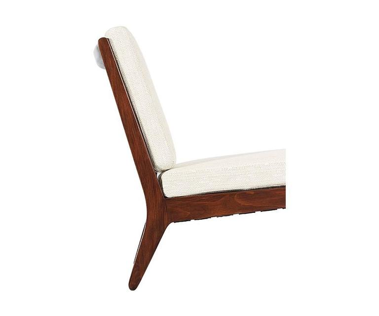 """Edward J. Wormley """"Precedent"""" Slipper Lounge Chair for Drexel In Excellent Condition For Sale In Los Angeles, CA"""