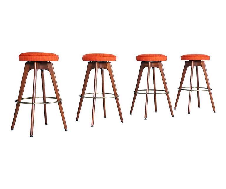 Chet Beardsley Bar Stools For Living Design At 1stdibs