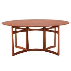 Peter Hvidt & Orla Mølgaard Nielsen Gate-Leg Dining Table for Søborg Møbelfabrik