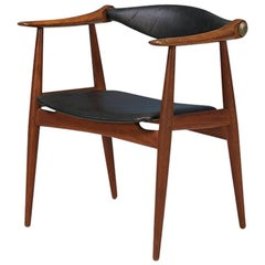 "Hans J. Wegner ""Yoke"" CH-34 Arm Chair for Carl Hansen & Søn"