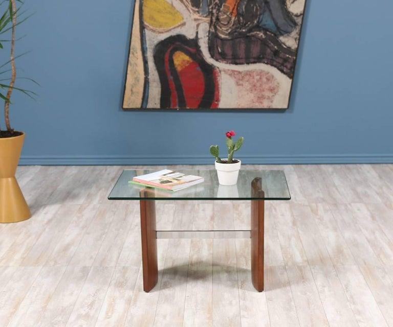 """Mid-Century Modern Vladimir Kagan """"Propeller"""" Side Table for Selig"""