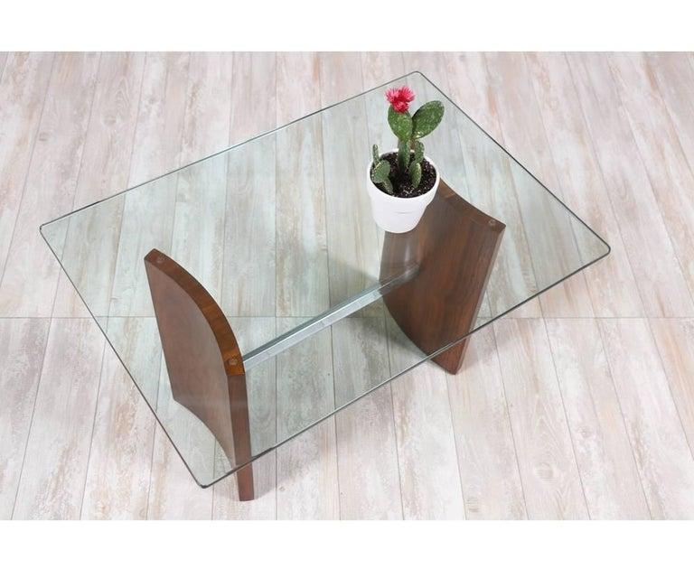 """Mid-20th Century Vladimir Kagan """"Propeller"""" Side Table for Selig"""