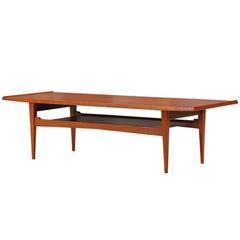 Danish Modern Teak Coffee Table by Moreddi