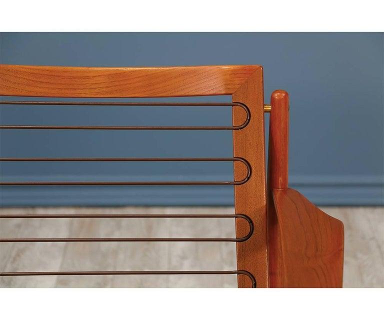 Svend Åge Eriksen Three-Seat Teak Sofa for Glostrup Møbelfabrik For Sale 1
