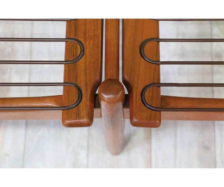 Svend Åge Eriksen Three-Seat Teak Sofa for Glostrup Møbelfabrik For Sale 2