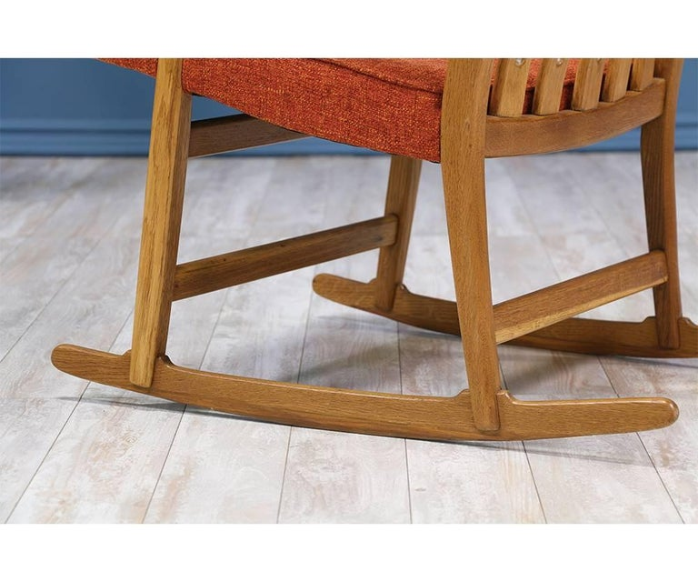 Hans J. Wegner ML-33 Rocking Chair for Mikael Laursen For Sale 2