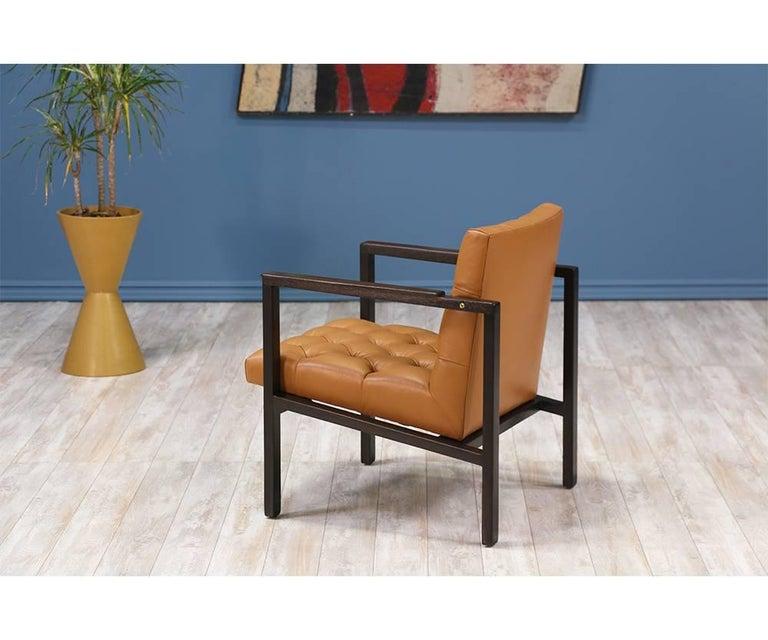 Edward J. Wormley Tufted Lounge Chair for Dunbar 3