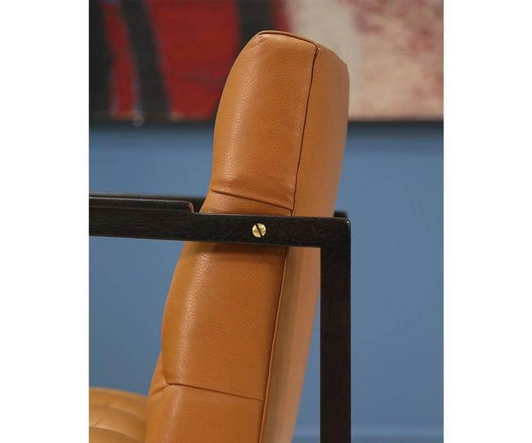 Edward J. Wormley Tufted Lounge Chair for Dunbar 7