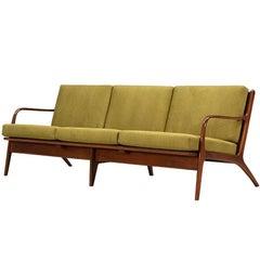 Adrian Pearsall Walnut Sofa for Craft Associates
