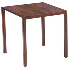 Danish Modern Rosewood Nesting Tables by Mogens Kold