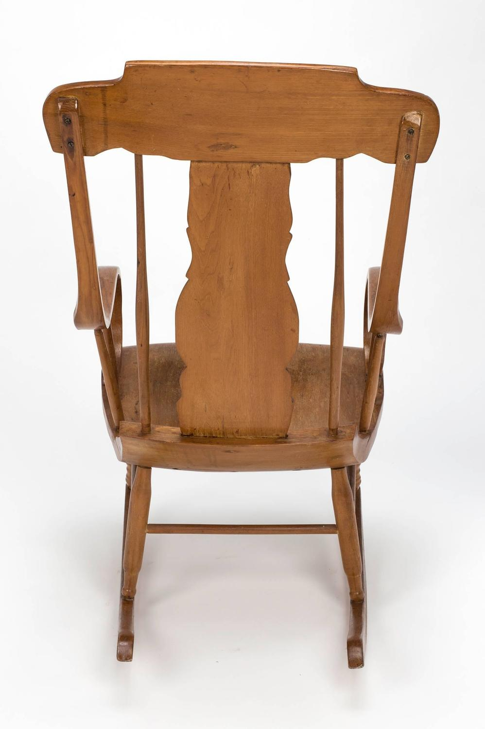 Swedish Style Rocking Chair For Sale at 1stdibs