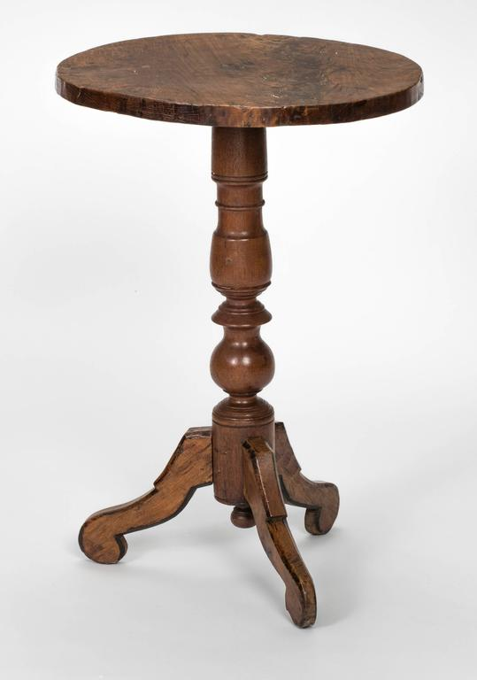 Black Glass And Mahogany Side Tables