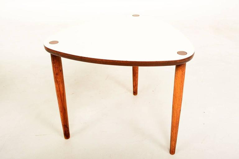 Mid Century Modern Triangular Nesting Tables 2