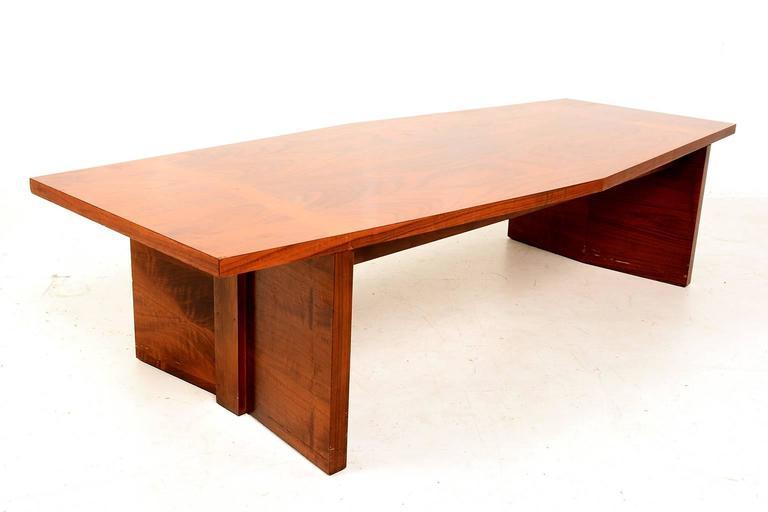 Oak Rare Mid-Century Modern Lane Coffee Table For Sale