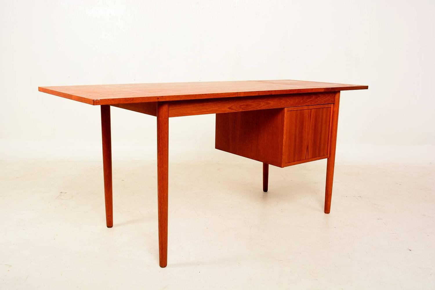 #410101 Danish Modern Teak Desk Sliding Drawers At 1stdibs with 1500x1000 px of Recommended Modern Desk With Drawers 10001500 save image @ avoidforclosure.info