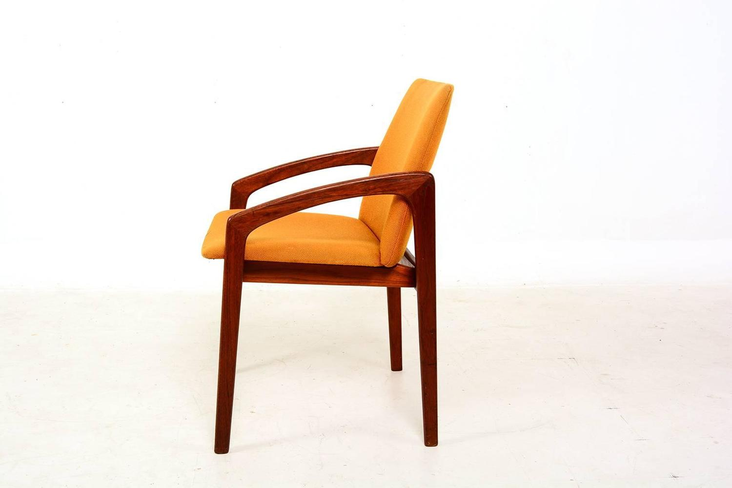 danish modern teak side chair for sale at 1stdibs