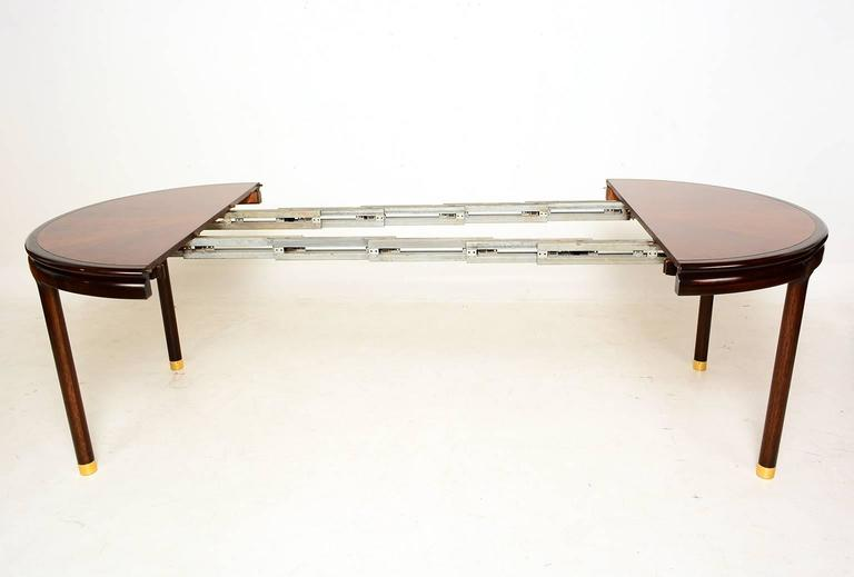 walnut oval dining table for sale at 1stdibs