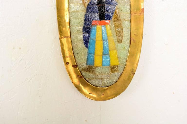 Midcentury Salvador Teran Mosaic Tray / Wall Art, 1950s For Sale at ...