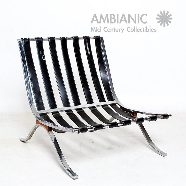 Selig Lounge Chair Barcelona Style 3