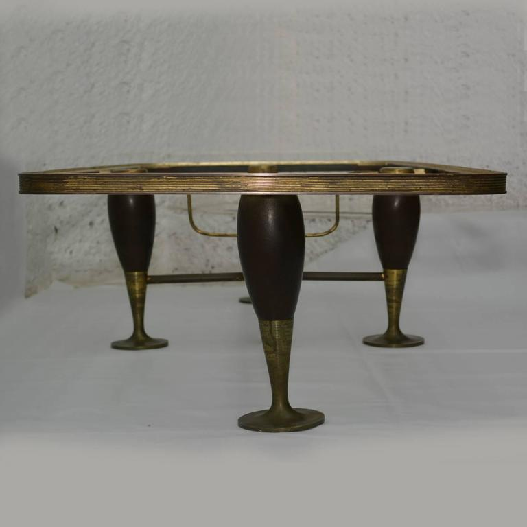 Mid-Century Modern Mexican Modernist Coffee Table After Arturo Pani For Sale