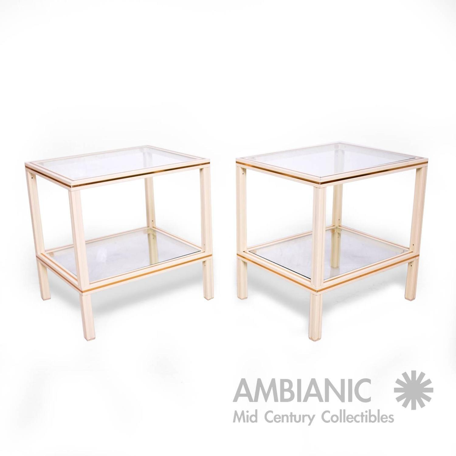 Pierre Vandel Set Of Coffee Table And Side Tables Paris For Sale At 1stdibs