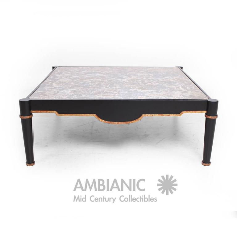 Mid-Century Modern Square Coffee or Cocktail Table Attributed to Arturo Pani For Sale