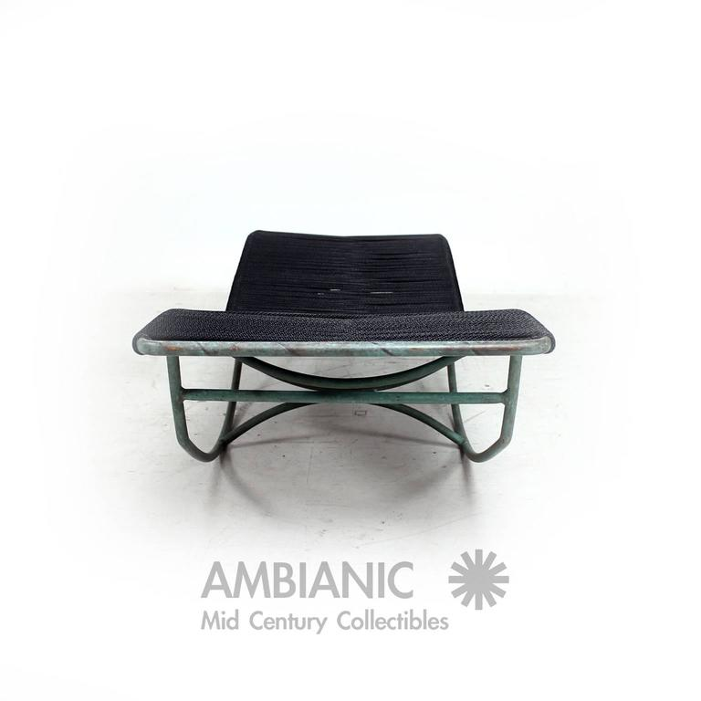 Walter lamb rocking chaise lounge at 1stdibs for Chaise x rocker