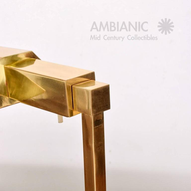Brass Table Desk Lamp Mid-Century Modern  9