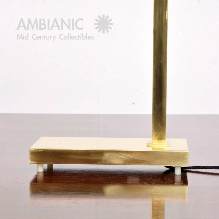 Brass Table Desk Lamp Mid-Century Modern  7