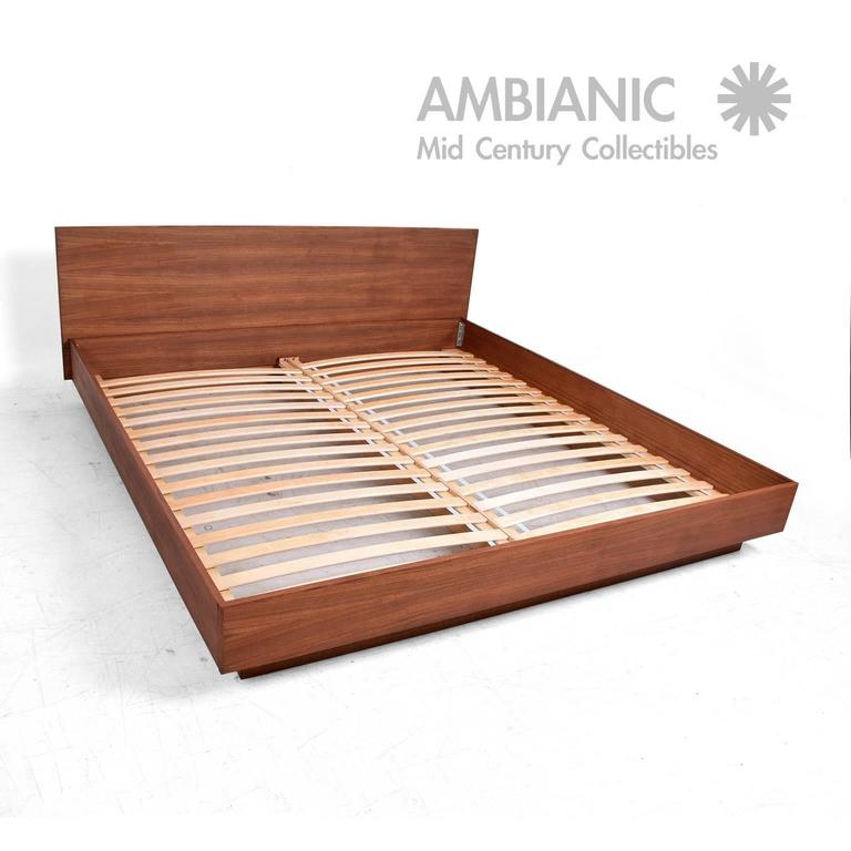 For Your Consideration A New Teak King Platform Bed Inspired In The Danish Modern