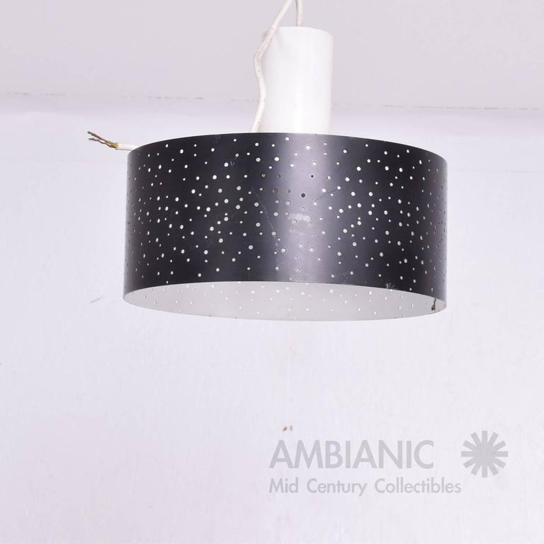 For your consideration a Mid-Century Modern pendant light made in Italy.